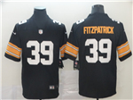 Pittsburgh Steelers #39 Minkah Fitzpatrick Alternate Black Vapor Untouchable Limited Jersey