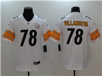 Pittsburgh Steelers #78 Alejandro Villanueva White Vapor Untouchable Limited Jersey