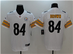Pittsburgh Steelers #84 Antonio Brown White Vapor Untouchable Limited Jersey