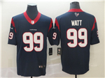 Houston Texans #99 J.J. Watt Navy Vapor Untouchable Limited Jersey
