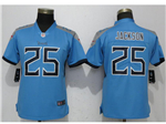Tennessee Titans #25 Adoree' Jackson Women's Light Blue Vapor Untouchable Limited Jersey