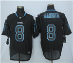 Tennessee Titans #8 Marcus Mariota Elite Light Out Black Jersey