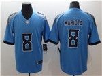 Tennessee Titans #8 Marcus Mariota Light Blue Vapor Untouchable Limited Jersey