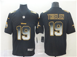 Minnesota Vikings #19 Adam Thielen Black Arch Smoke Limited Jersey