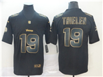 Minnesota Vikings #19 Adam Thielen Black Gold Vapor Untouchable Limited Jersey