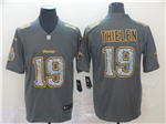 Minnesota Vikings #19 Adam Thielen Gray Camo Limited Jersey