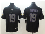 Minnesota Vikings #19 Adam Thielen Black Vapor Impact Limited Jersey