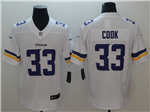 Minnesota Vikings #33 Dalvin Cook White Vapor Untouchable Limited Jersey