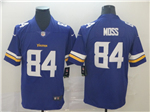 Minnesota Vikings #84 Randy Moss Purple Vapor Untouchable Limited Jersey