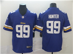 Minnesota Vikings #99 Danielle Hunter Purple Vapor Untouchable Limited Jersey