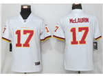 Washington Football Team #17 Terry McLaurin Women's White Vapor Limited Jersey