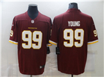 Washington Football Team #99 Chase Young Burgundy Vapor Limited Jersey