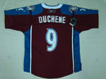 Colorado Avalanche #9 Matt Duchene Home Burgundy Jersey