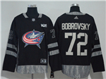 Columbus Blue Jackets #72 Sergei Bobrovsky Black 100th Anniversary Jersey