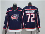 Columbus Blue Jackets #72 Sergei Bobrovsky Youth Navy Blue Jersey