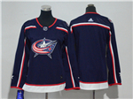 Columbus Blue Jackets Women's Navy Blue Team Jersey
