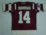 Vancouver Canucks #14 Alexandre Burrows Maroon Retro Millionaires Jersey