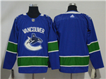 Vancouver Canucks 2017/18 Home Blue Team Jersey