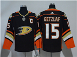 Anaheim Ducks #15 Ryan Getzlaf 2017/18 Black Jersey
