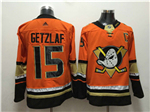 Anaheim Ducks #15 Ryan Getzlaf 2017/18 Orange Jersey