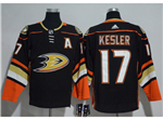 Anaheim Ducks #17 Ryan Kesler 2017/18 Black Jersey