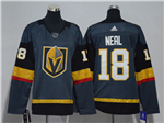 Vegas Golden Knights #18 James Neal Women's Gray Jersey