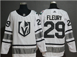 Vegas Golden Knights #29 Marc-André Fleury White 2019 All Star Game Jersey