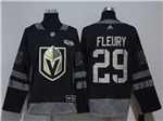 Vegas Golden Knights #29 Marc-André Fleury Black 100th Anniversary Jersey