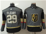 Vegas Golden Knights #29 Marc-André Fleury Youth Gray Jersey