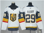 Vegas Golden Knights #29 Marc-André Fleury White Jersey