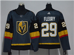 Vegas Golden Knights #29 Marc-André Fleury Women's Gray Jersey