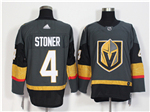 Vegas Golden Knights #4 Clayton Stoner Gray Jersey