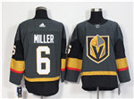 Vegas Golden Knights #6 Colin Miller Gray Jersey