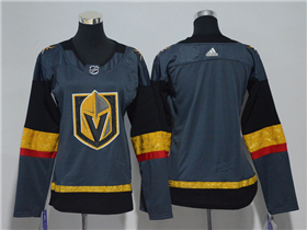 Vegas Golden Knights 2017/18 Women's Gray Team Jersey