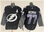 Tampa Bay Lightning #77 Victor Hedman Alternate Black Jersey