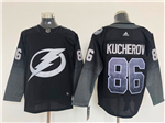 Tampa Bay Lightning #86 Nikita Kucherov Alternate Black Jersey