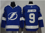 Tampa Bay Lightning #9 Tyler Johnson Blue Jersey