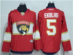 Florida Panthers #5 Aaron Ekblad Home Red Jersey