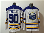 Buffalo Sabres #90 Ryan O'Reilly White Jersey
