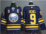 Buffalo Sabres #9 Jack Eichel Navy Jersey