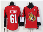 Ottawa Senators #61 Mark Stone Red Jersey