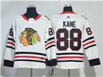 Chicago Blackhawks #88 Patrick Kane White Jersey
