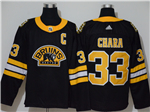 Boston Bruins #33 Zdeno Chara Alternate Black Jersey