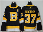 Boston Bruins #37 Patrice Bergeron 2019/20 Alternate Black Jersey