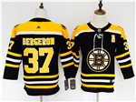 Boston Bruins #37 Patrice Bergeron Youth Black Jersey