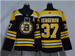 Boston Bruins #37 Patrice Bergeron Women's Black Jersey