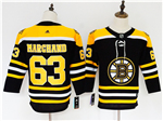 Boston Bruins #63 Brad Marchand Youth Black Jersey
