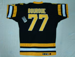 Boston Bruins #77 Ray Bourque Throwback Black Jersey