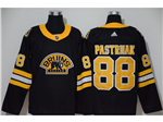 Boston Bruins #88 David Pastrnak Alternate Black Jersey