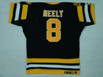 Boston Bruins #8 Cam Neely Throwback Black Jersey